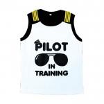 Firefly Kid Shirt White (Pilot in Training)