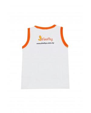 Firefly Kid Sleeveless (White)